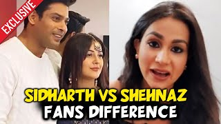 Aanchal Khurana On Difference Between Sidharth And Shehnaz Fans