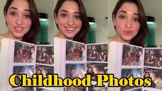 Tamannaah Bhatia Cutest Childhood Photos । 3 April 2020 । News Remind