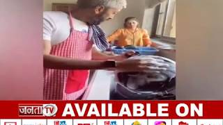 हाथ में बेलन लिए खड़ी Genelia के डर से Riteish Deshmukh ने धोए बर्तन, Video वायरल