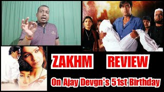 Zakhm Review On Ajay Devgn 51st Birthday, His First National Award For Best Actor