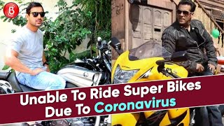 John Abraham To Salman Khan - Stars Having EXPENSIVE Super Bikes But Unable To Ride Due To COVID-19