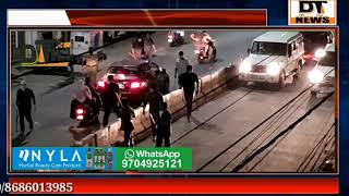 Hyderabad Curfew Last Night Police Lathicharge in Diffrent Places