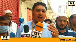 AIMIM Doodhbowli Corporator Abdul Gaffar Anti Corona Spraying In Bandalguda