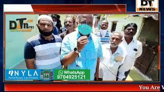 Aimim Corporator Mohd Gaffer Sanatized His Ward Bahadurpura