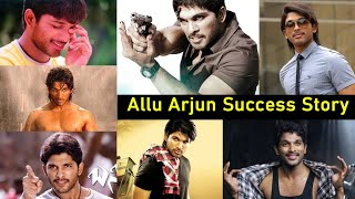Stylish Star Allu Arjun (Bunny) Success Story | Tollywood | Geetha Arts | Top Telugu TV