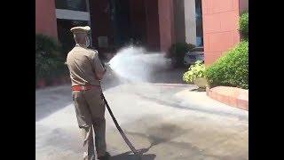 Coronavirus: DRDO develops equipment for sanitising public spaces