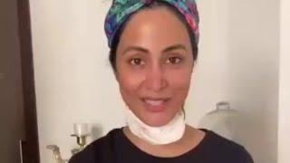 Hina Khan Showing How We Avoid Loopholes, 21days Lockdown