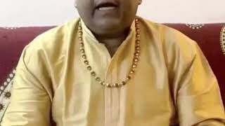 Humble words for Honourble PM Shri Modiji by playback singer Ram Shankar