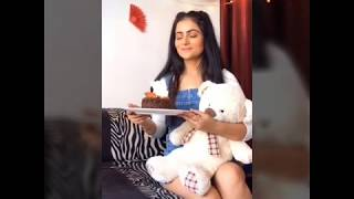Gudiya Hamari Sabhi Pe Bhari Serial Actress Shweta Rajput Baked Cake On Her Own Birthday