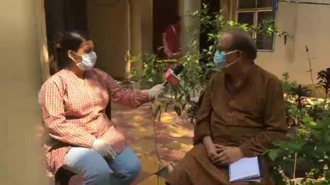 Siliguri Mayor live on current issue Corona virus