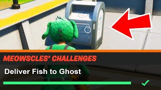 Deliver Fish to Ghost Fortnite
