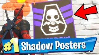 Deface SHADOW Posters Fortnite