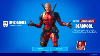 new fortnite deadpool