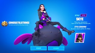 Get Shadow Skye Or Ghost Skye Now Fortnite Complete 18 Skye Challenges