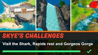 Visit the Shark Rapid's rest and Gorgeous Gorge