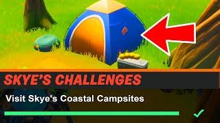 Visit Skye's Coastal Campsites