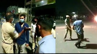 Hyderabad Police In Action At Late Night In Lockdown | Charminar ACP | @ SACH NEWS |