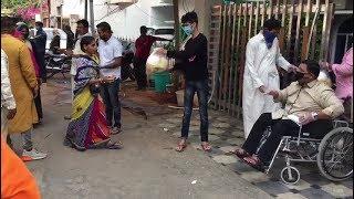 The Azim Premji Of Hyderabad Mukram Ali Siddiqui | Ration Distribution Is Going On |