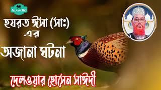 Bangla Waz Mahfil | হযরত ঈসা(আ:) এর আজব ঘটনা । Allama Delwar Hossain Saidi Bangla Waz Mahfil Video