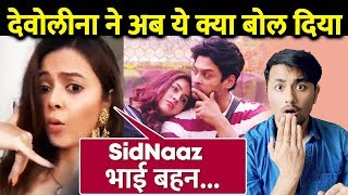Devoleena Reacts Again On Shehnaz And Sidharth Shukla Chemistry; Here's What She said