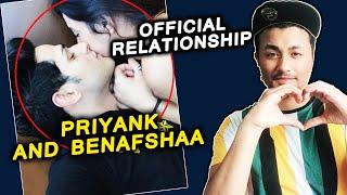 Priyank Sharma And Benafsha OFFICIAL Relationship | Shares COZY Photo