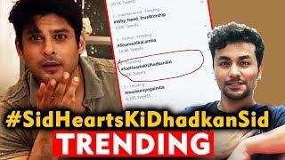 Sidharth Shukla Fans Trends #SidHeartsKiDhadkanSid | Bigg Boss 13 Winner