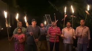 Dharmendra Lit A Mashaal After Pm Modi Appeal For Candle । 6 April 2020 | News Remind