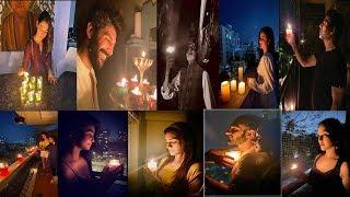 Bollywood Stars Shilpa Shetty, Akshay Kumar, Anil Kapoor & Many Celebs Light Candle At 9 Pm