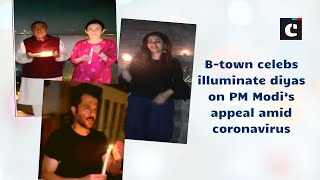 B-town celebs illuminate diyas on PM Modi's appeal amid coronavirus