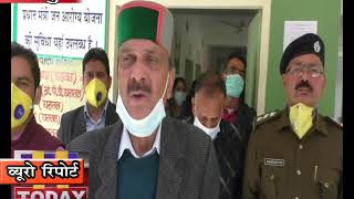 06 april  09 कोरोरना वायरस के संभावित खतरे को ले कर रामपुर के विधायक नेतैयारियों का लिया जायजा