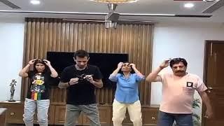 काला चश्मा लगाकर किया डांस, Yuzvendra Chahal ने परिवार संग यूं की मस्ती