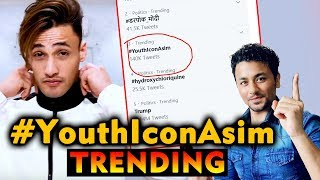 Asim Riaz Fans Trend #YouthIconAsim | Bigg Boss 13