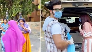 Video: Paras-Mahira Distributed Food To POOR People | Respect For Pahira