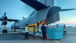 Coronavirus pandemic: IAF continues its support towards fight against Covid-19