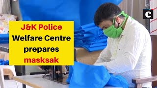 J&K Police Welfare Centre prepares masks amid coronavirus outbreak | Jammu News | Catch news