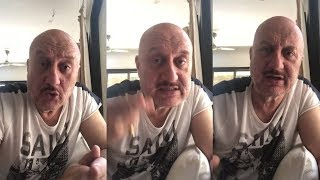 Anupam Kher Emotional Message  During Lockdown । 8 April 2020 । News Remind