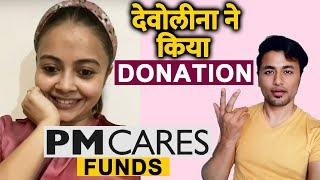 Devoleena Bhattacharjee DONATES To PM CARE FUNDS | Bigg Boss 13 Fame