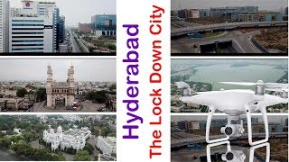 Wow! Hyderabad City Drone View | Lock Down Telangana | TRS | TOp Telugu TV