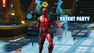 Dance at Deadpool's Yacht Party Fortnite Week 8 Deadpool Challenges