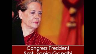 Congress President Smt. Sonia Gandhi suggested 5 ways to save funds & fight Coronavirus Pandemic