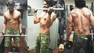 Vishal Aditya Singh INTENSE Gym Bodybuilding Workout - Watch Video