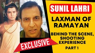 Lakshman Sunil Lahri EXCLUSIVE Interview | RAMAYAN | Behind The Scenes, FUN Moment And More | PART 1
