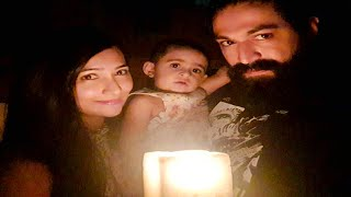 Yash Family Lamp Light Diya Cute Video | Ayra Yash Cute Video | Yash | Radhika Pandit | Ayra