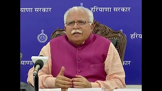 Haryana CM Khattar hints at lockdown extension, discusses about 3 zones for graded exit