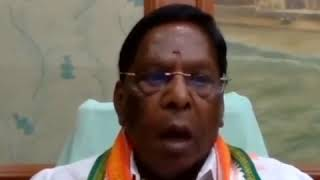 COVID-19: V Narayanasamy addresses on Migrant Labourers