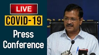 Watch Live | Arvind Kejriwal's Important updates about the fight against COVID-19 | 9th April 2020