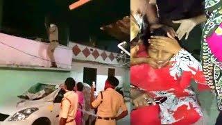 Police Gets In Headlines Of Media Last Night Rajendarnagar Telangana   @ SACH NEWS  