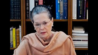 Covid-19: Sonia Gandhi's video message to nation