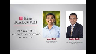 ETRise Dialogues:  The A to Z of RBI's three-month loan moratorium for businesses