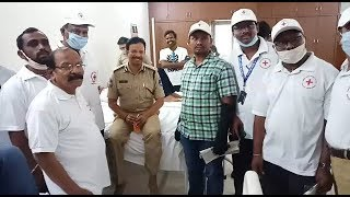 The Real Hero VC Sajjanar Commissioner Cyberabad | The Blood Donation In Lockdown | @ SACH NEWS |
